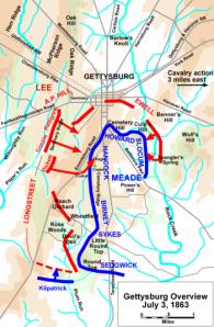 Gettysburg, 3 July, 1863