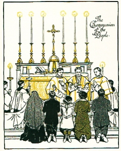 Since the days of the Apostles, Eucharist has been the fundamental form of Christian worship.