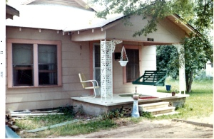 Front of house, about 1967