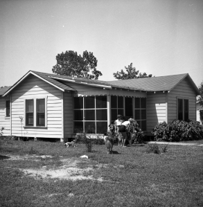 "The ""Green House,"" 37th and Laurel, 1953"