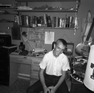 Danny Lynn McDonald in my room about 1962.