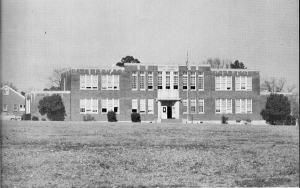 "North Heights Junior High, about 1963.  Proud home of the ""Bears."""